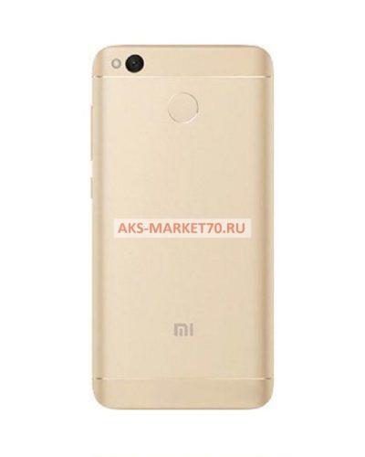 Задняя крышка Xiaomi Redmi 4X (золото)