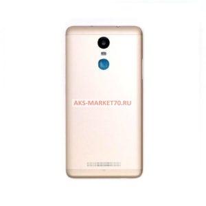 Задняя крышка Xiaomi Redmi Note 3 (золото)