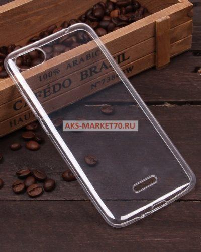 Чехол-бампер для Xiaomi Redmi 6A(Прозрачный)