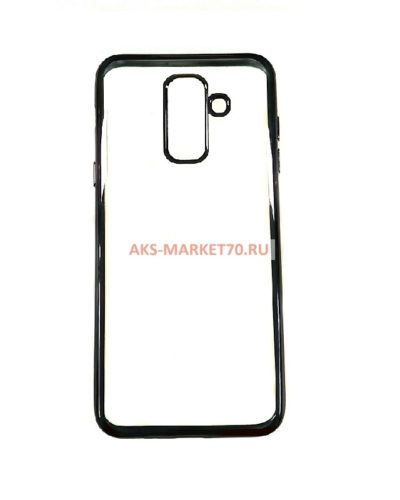 Чехол-бампер на Samsung Galaxy A6 Plus (с черной рамкой)