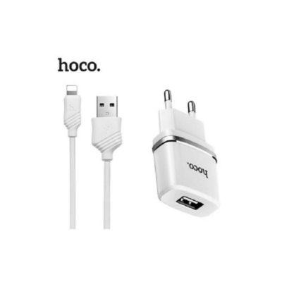 СЗУ HOCO 1USB C11 series 1A White