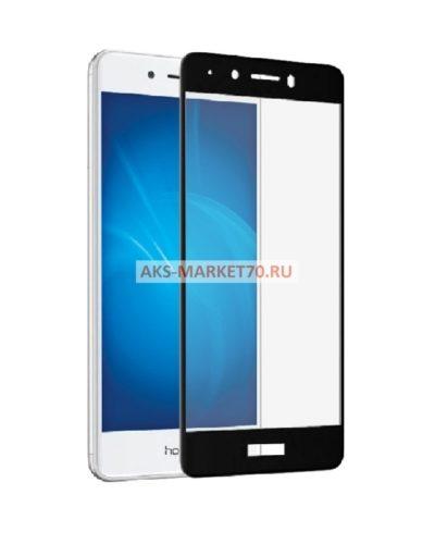 Защитное стекло 3D на Huawei Honor 6C (черное)