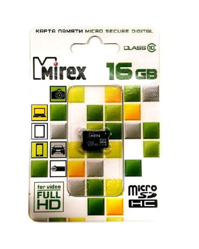 Карта памяти Mirex 16Гб