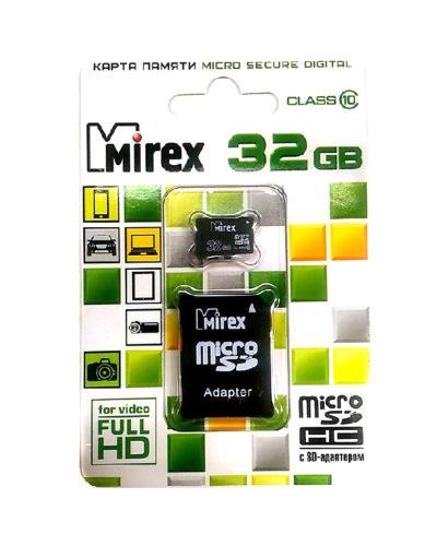 Карта памяти Mirex 32Гб