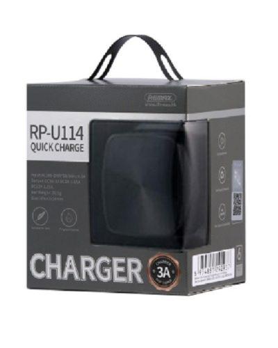 СЗУ REMAX RP-U114 (черный)