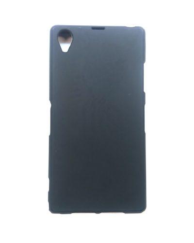 Чехол-бампер для Sony Z1 (черный)