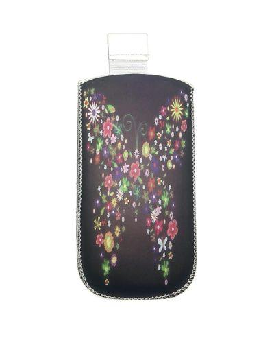 Сумочка-колба Glossar  для Nokia 6300/6303 (черный с узором)