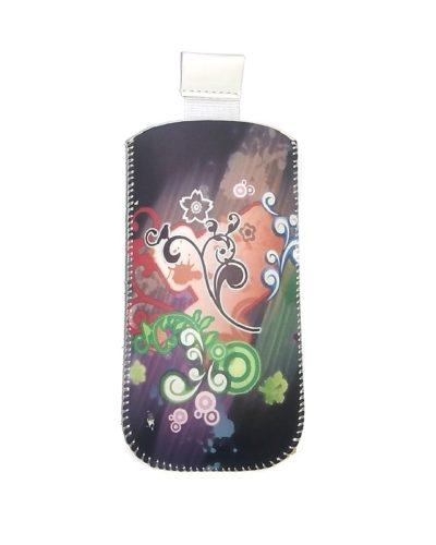 Сумочка-колба Glossar  для Nokia 6300/6303 (серый с узором)