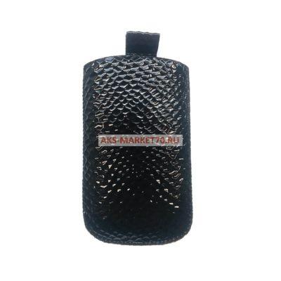 Сумочка-колба Glossar  для Nokia S3500 (черный)