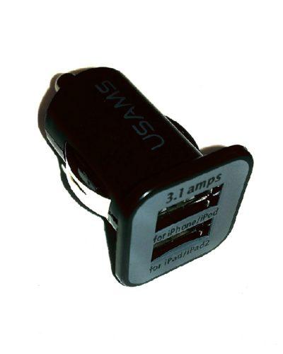 Автомобильное з/у 2 порта 2A 12V-USB