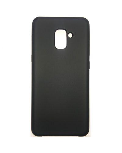 Бампер Soft Touch для Samsung Galaxy A8+(2018) (Черный)