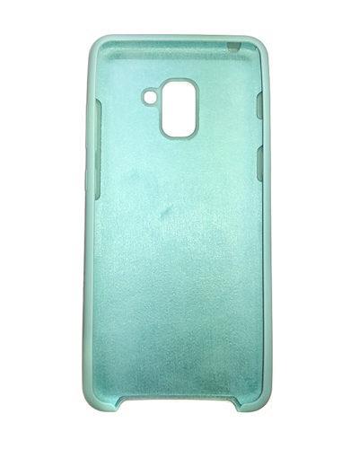 Бампер Soft Touch для Samsung Galaxy A8+(2018) (Мята)
