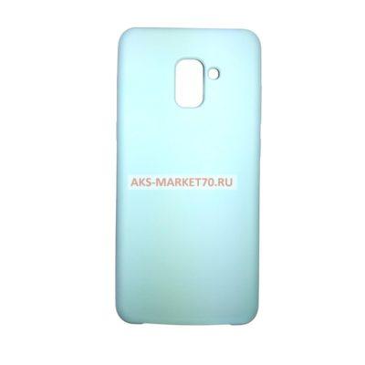 Бампер Soft Touch для Samsung Galaxy A8+(2018) (Мятный)
