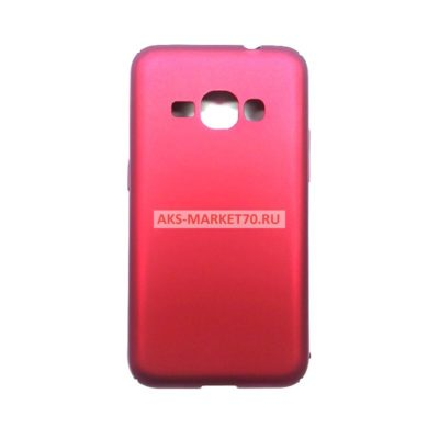 Чехол-бампер для Samsung Galaxy J1 2016 (красный)