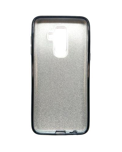Чехол-бампер с блестками для Samsung Galaxy J8 (2018)