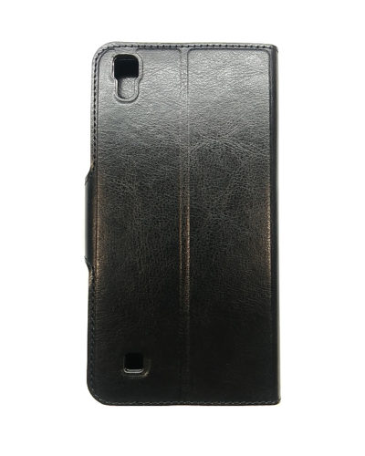 Чехол-книжка для LG X Power (черная)