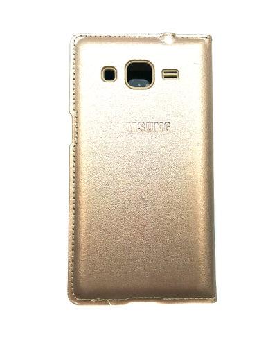 Чехол-книжка для Samsung Core Prime (золотая)