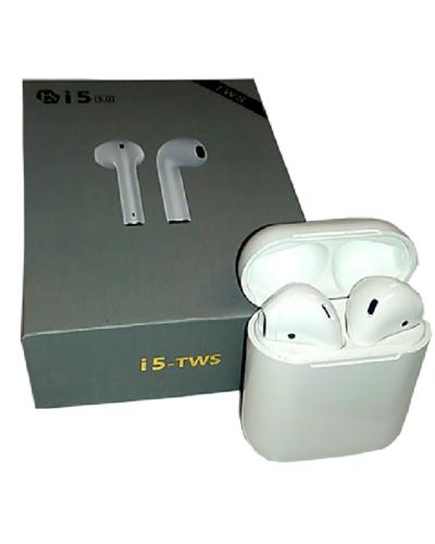 Беспроводные Bluetooth наушники TWS i5 (белый)