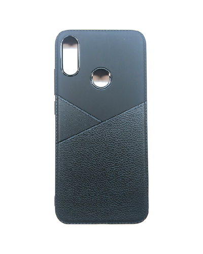 Чехол силиконовый Xiaomi Redmi Note 7 (черный)