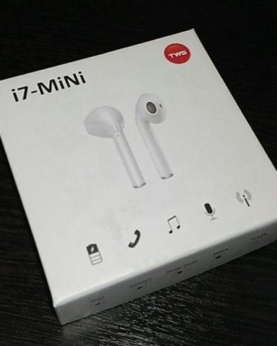Беспроводные Bluetooth - наушники TWS i7 mini (белый)