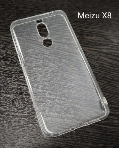 Чехол-бампер ультратонкий Newaks Meizu X8 (прозрачный)