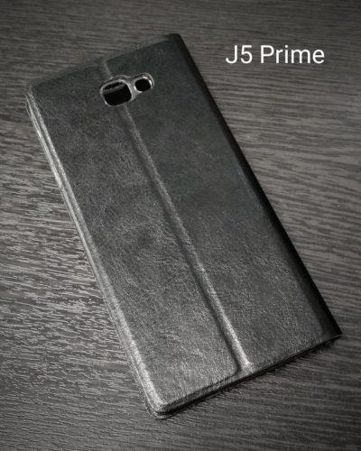 Чехол-книжка для Samsung J5 Prime (чёрный)