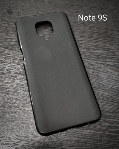 Чехол-накладка Activ Xiaomi Redmi Note 9S/Redmi Note 9 Pro (черный)