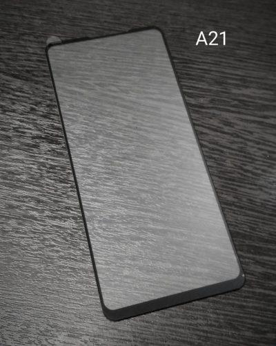 Защитное стекло 2,5D RockBox для Samsung SM-A215 Galaxy A21 (черный)
