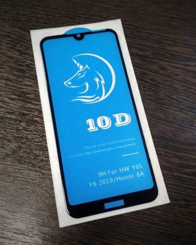 Защитное стекло Activ 3D для Huawei Honor 8A/Y6 2019/Y6S (черный)