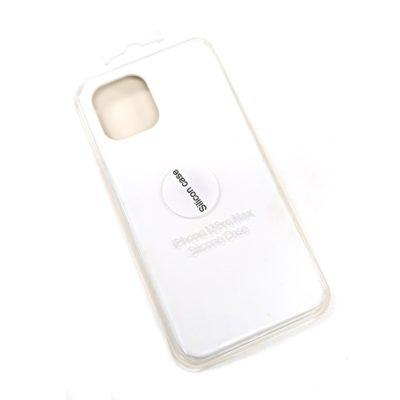 Чехол-бампер iPhone 12 Pro MAX New Soft Touch (белый)