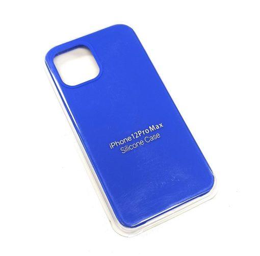Чехол-бампер iPhone 12 Pro MAX New Soft Touch (ярко-синий)