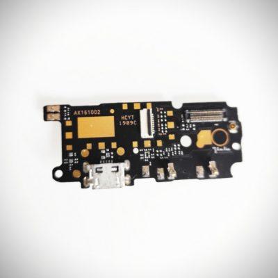 Шлейф Xiaomi Redmi Note 4 плата системный разъем/микрофон